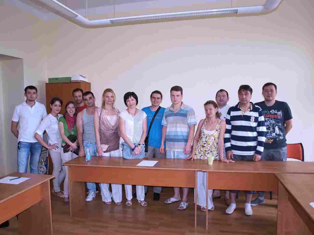 Участники курсов Go Study