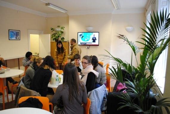 Обед студентов CES, Leeds