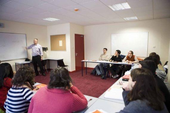 Во время урока CES, Dublin