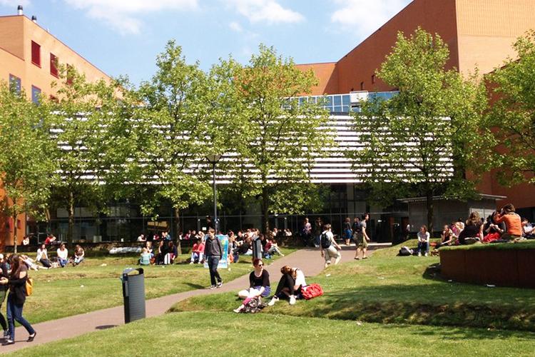 Внешний вид одного из корпусов HAN University of Applied Sciences