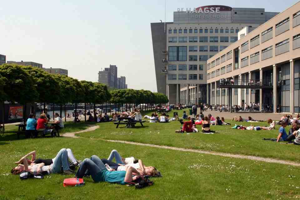 Кампус The Hague University of Applied Sciences