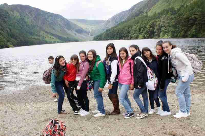 Студенты на экскурсии