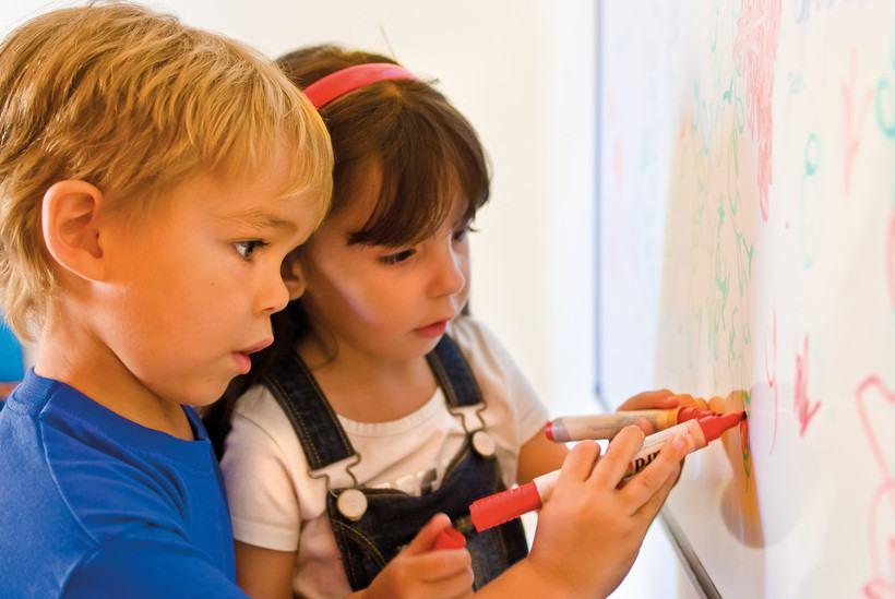 Дети в Alpha  School of English, Malta
