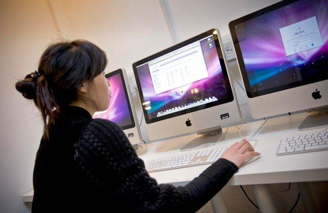 Компьютерный класс в Stafford House Study Holidays, Cambridge
