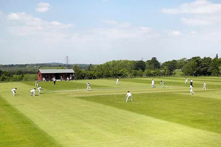 Игра в крикет в Accord International Summer Schools, Bethany centre