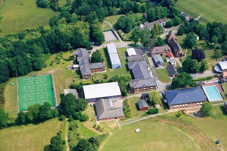 Вид сверху на комплекс Accord International Summer Schools, Bethany centre