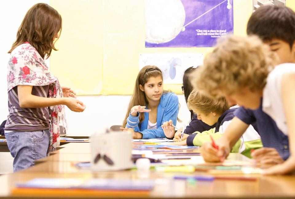 Урок в Stafford House Study Holidays, Oakham