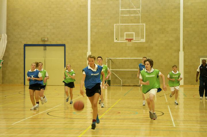 Спортзал в Churchill House, Dean Close School