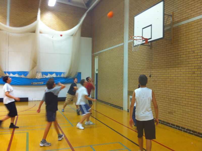 Баскетбол в Churchill House, Prior Park College