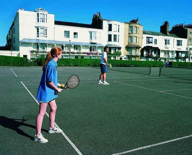 Теннис в Churchill House, Ramsgate