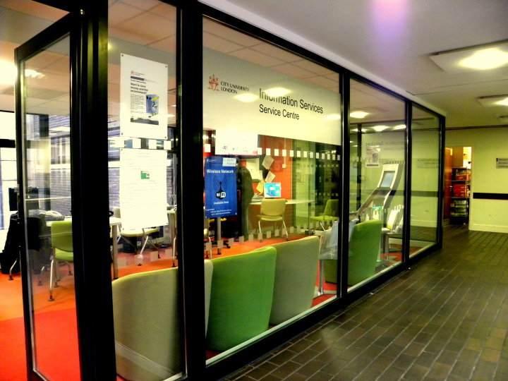 Информационный центр INTO, City, University London
