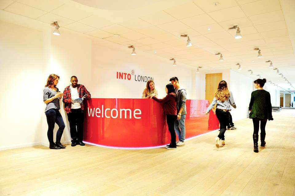 Ресепшн INTO, City,  University London
