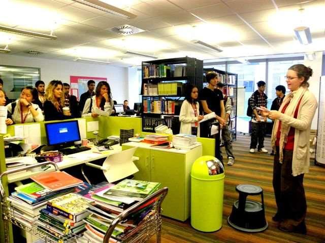 Библиотека INTO, City, University London