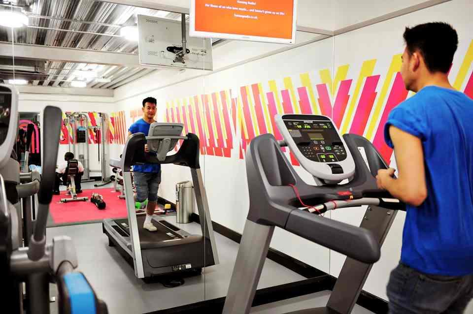Тренажерный зал в резиденции при University London