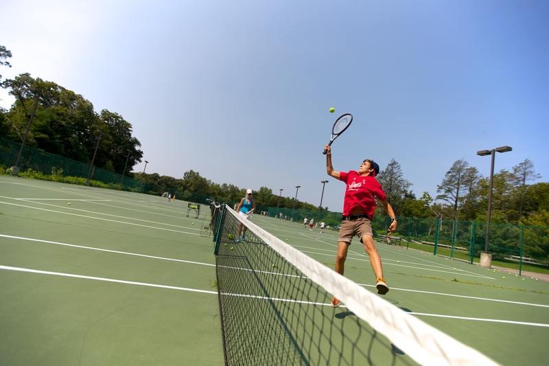 Теннисные корты на кампусе Kings Colleges, Boston