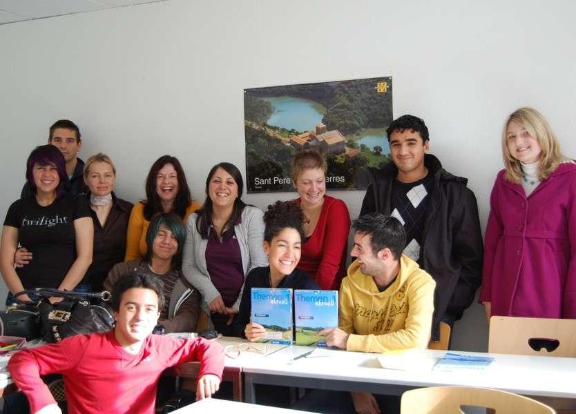 Студенты F+U Academy Of Languages, Heidelberg