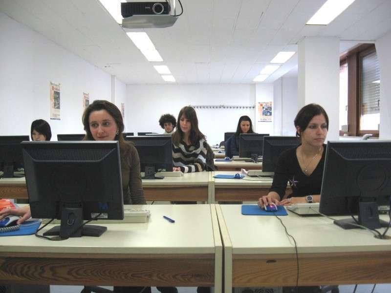 Компьютерный класс в F+U Academy Of Languages, Heidelberg