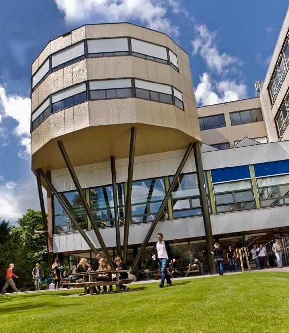 Футуристическая архитектура The University of Groningen