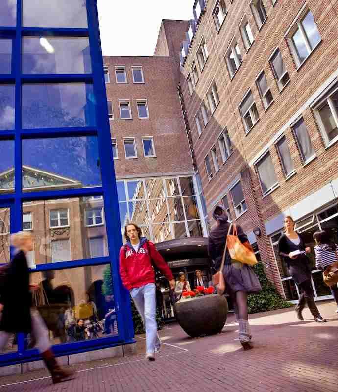 Внутренний двор The University of Groningen