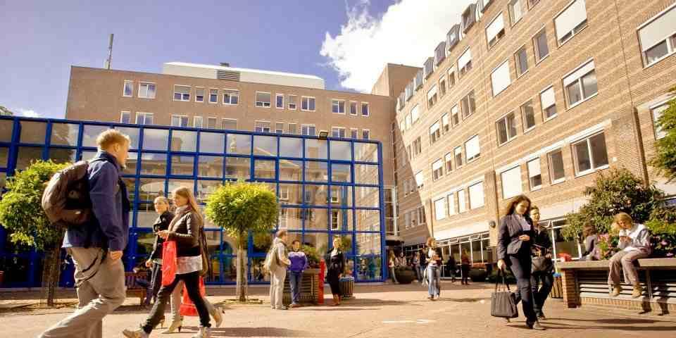 Внутренний дворThe University of Groningen