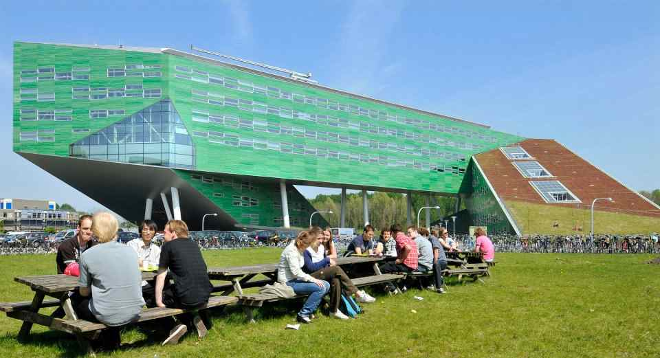 Студенты на отдыхе в The University of Groningen
