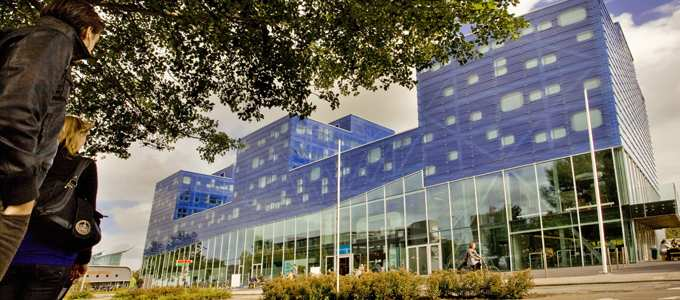 Фасад здания The University of Groningen