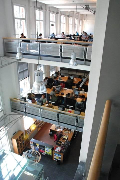 Вид изнутри University of Amsterdam