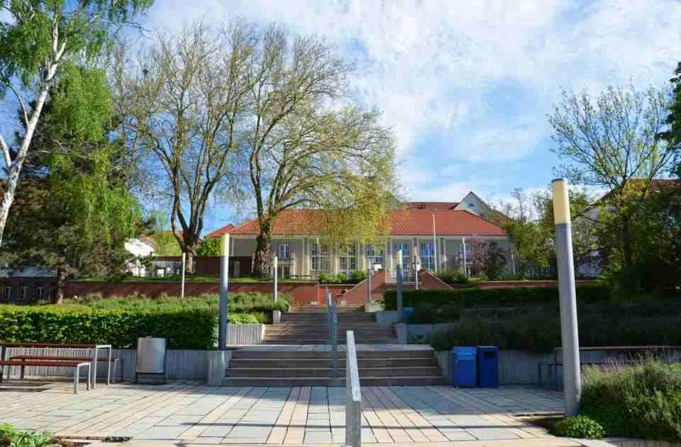 Внутренний двор Nordhausen University of Applied Sciences