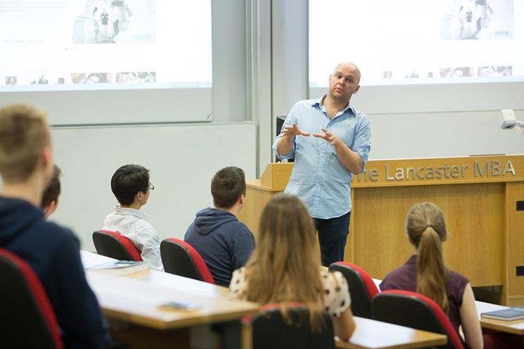 Лекция в Lancaster University