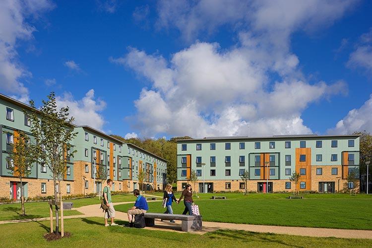Студенческое общежитие Lancaster University