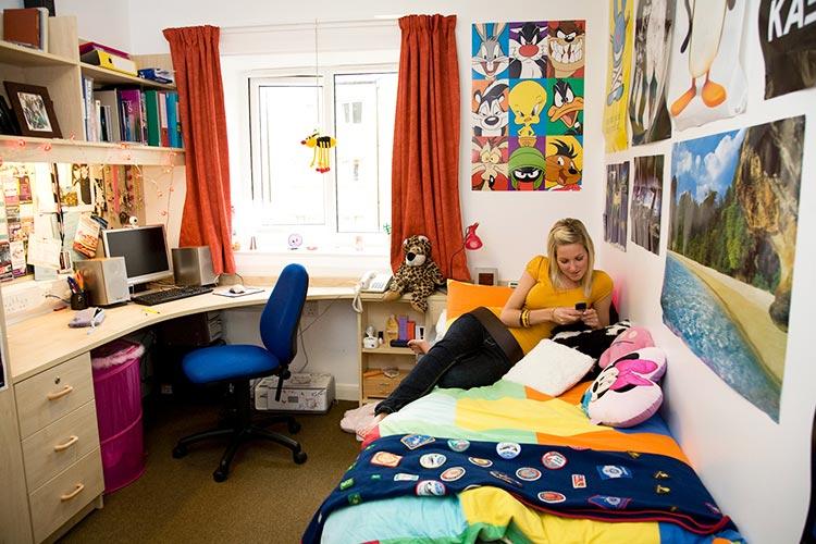 Комната студента Lancaster University