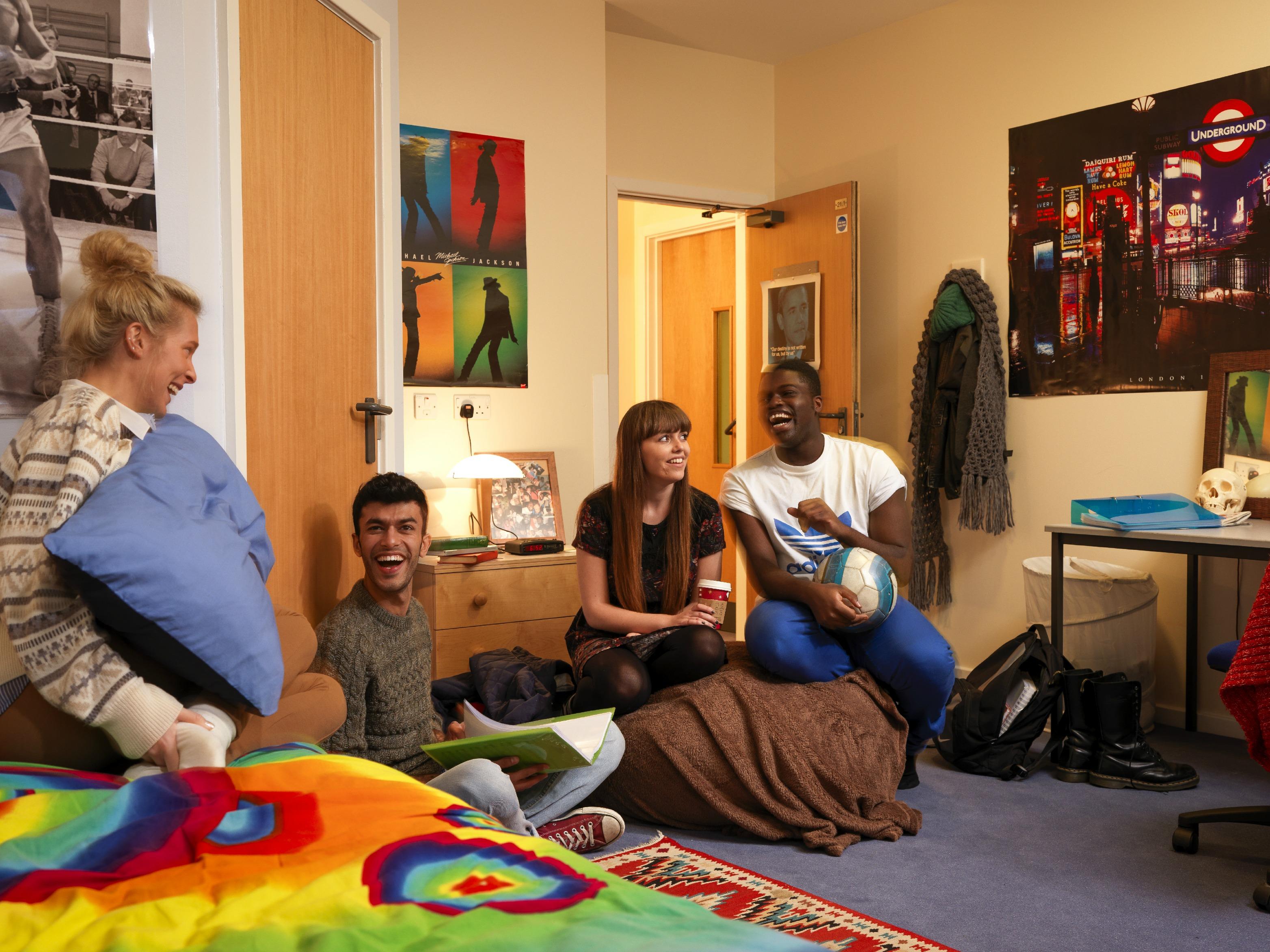 Студенческая комната University of Surrey