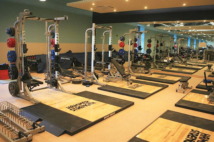 Спортивный зал University of Surrey