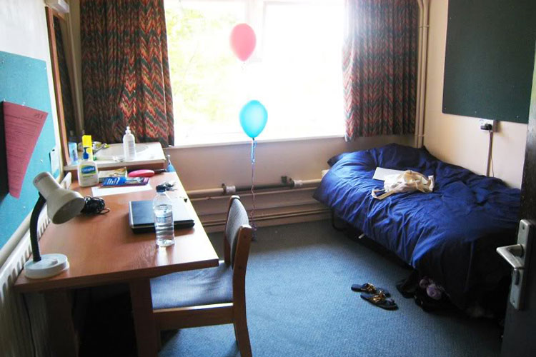 Комната студента University of Sussex
