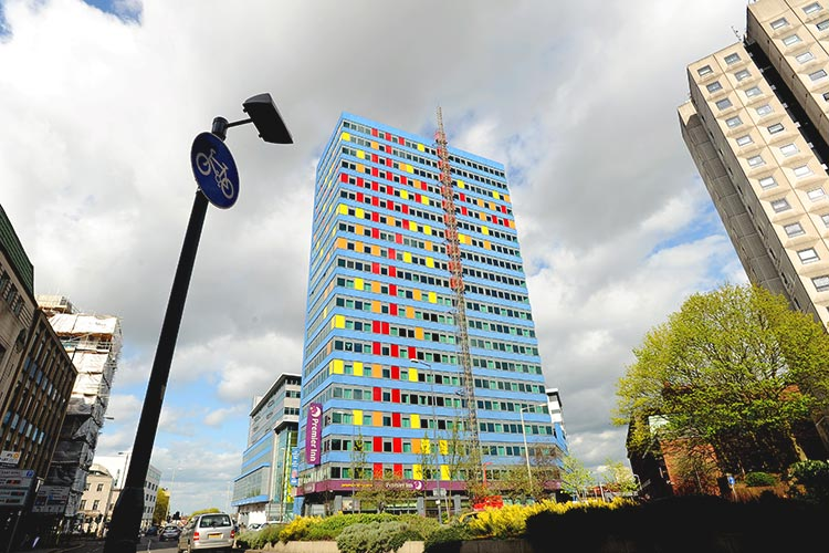 Общежитие для студентов University of Leicester ISC
