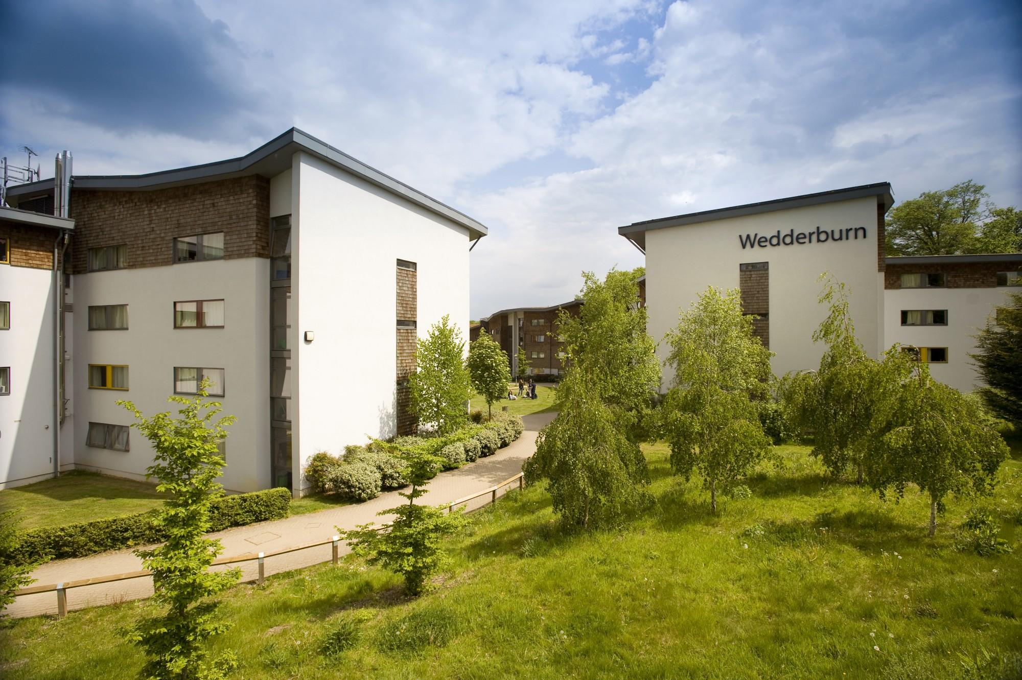 Студенческие общежития Royal Holloway
