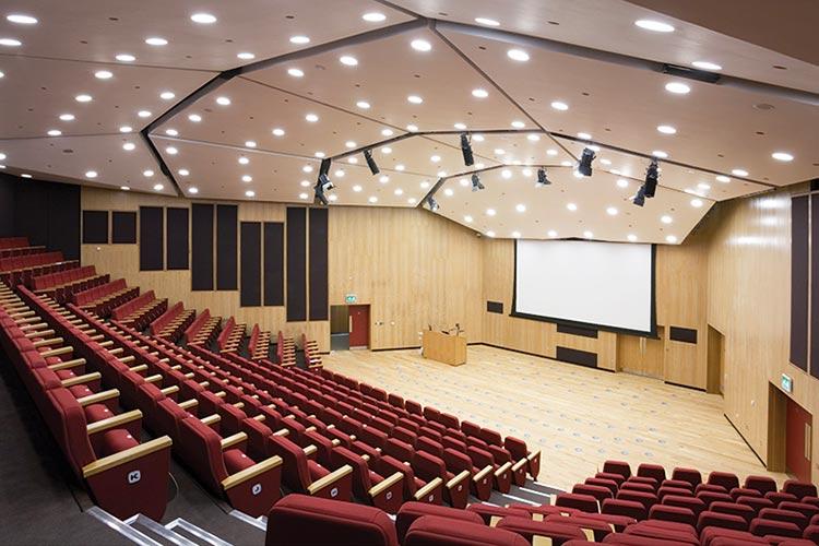 Лекционный зал в Royal Holloway