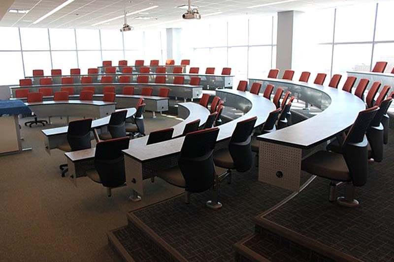 Аудитория в Roosevelt University