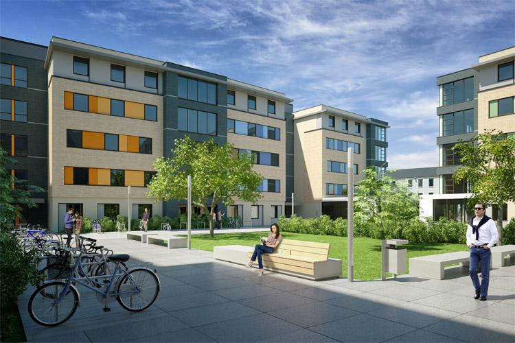 Студенческая резиденция University College Dublin