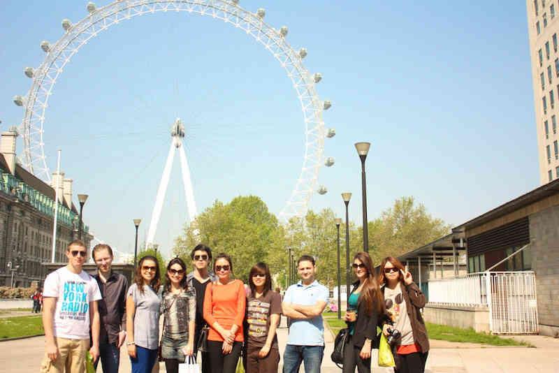 Студенты Wimbledon School of English на экскурсии