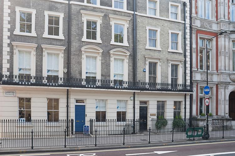 Главное здание Delfin English School, London