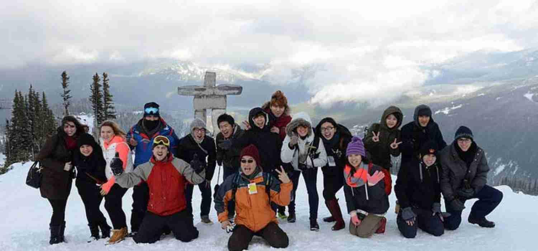 Развлекательные мероприятия студентов в горах