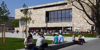 Основной новый кампус Франкфуртского университета им. Гёте
