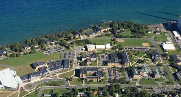 Кампус Oswego сверху