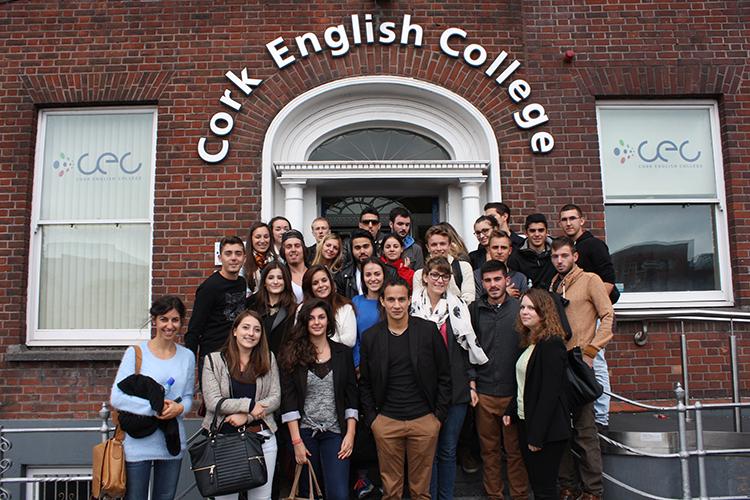 Студенты Cork English College