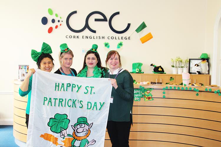 День Святого Патрика в Cork English College