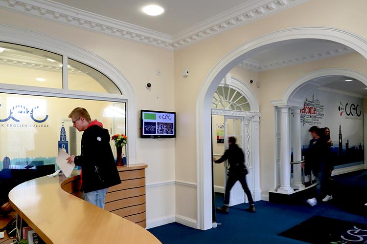 Фойе Cork English College