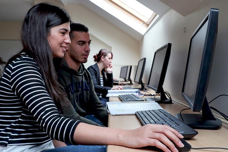 Компьютерный класс Cork English College