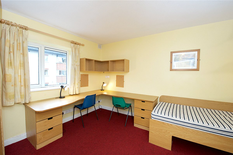 Комната для двоих студентов Cork English College