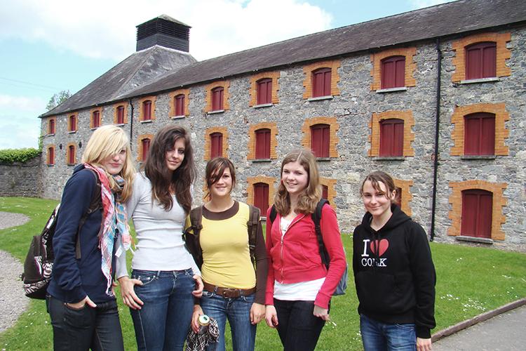 На экскурсии Cork English College